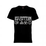 เสื้อยืด วง Led Zeppelin แขนสั้น แขนยาว S M L XL XXL [11]