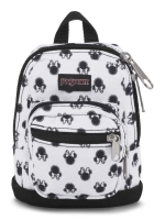 JanSport กระเป๋าเป้ รุ่น DISNEY RIGHT POUCH - DISNEYMINNIEWHITE BOW DOT