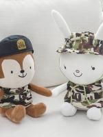 ตุ๊กตาเกาหลี Descendants Of The Sun แต่งเสื้อทหารลายพราง มี2แบบ