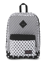 JanSport กระเป๋าเป้ รุ่น DISNEY SUPER FX - DISNEYMINNIEWHITE BOW DOT