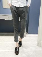 กางเกงขายาวเกาหลี ซง จุง-กิ Descendants Of The Sun ทรง Slim มี2สี