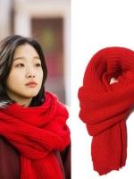 ผ้าพันคอสีแดงเกาหลี จีอึนทัก Goblin