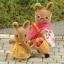 ซิลวาเนียน ชุดหนูน้ำตาลไปจ่ายตลาด (UK) Sylvanian Families Hazel and Rhianna Day Out thumbnail 2
