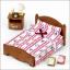ซิลวาเนียน เตียงคู่ (EU) Sylvanian Families Semi-double Bed thumbnail 1