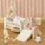 ซิลวาเนียน เบบี้แฝดหมากับเตียงนอนและของเล่น (UK) Sylvanian Families Babies at Home Set thumbnail 2