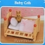 ซิลวาเนียน เตียงเบบี้มีลิ้นชัก (EU) Sylvanian Families Baby Crib thumbnail 3