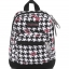 JanSport กระเป๋าเป้ รุ่น Right Pouch - Disney Minnie White Houndstooth thumbnail 1