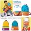 Hellolulu กระเป๋าเด็ก รุ่น HANNA - Orange/Turquoise thumbnail 6