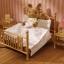ซิลวาเนียน เตียงคู่สีทอง (UK) Sylvanian Families Luxury Brass Bed thumbnail 2