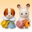 ซิลวาเนียน ชุดนักเรียนสำหรับเบบี้ 2ชุด (JP) Sylvanian Families Kindergarten Uniforms thumbnail 1