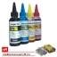 Max1 หมึกเติม Canon (all model) Inkjet Ink 100 ml. (BK,C,Y,M)