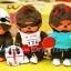 ตุ๊กตาลิงมอนจิจิรุ่นฉลอง 30 ปี ในชุดว่ายน้ำ 7 นิ้ว (30th Anniversary Monchhichi Plush) thumbnail 1