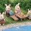 ซิลวาเนียน บาร์บีคิวริมน้ำ Sylvanian Families Family Barbecue Set thumbnail 1