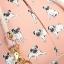 Mi-Pac - Swing Bag - Pugs Peach thumbnail 3