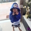 0010เสื้อคลุมการ์ตูนดัง ไซส์เด็กทรงจั้มเปอร์ มีฮู้ดทรงแขนยาว thumbnail 10