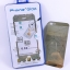 ฟิล์มกระจก(ฟิล์มกันรอย) 3 มิติ Iphone 5/5S/5SE สีเงิน 2in1 (หน้า-หลัง) thumbnail 1