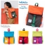 Hellolulu กระเป๋าเด็ก รุ่น LINUS - Neon Orange/Light Blue thumbnail 5