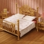 ซิลวาเนียน เตียงคู่สีทอง (UK) Sylvanian Families Luxury Brass Bed thumbnail 1