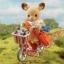 ซิลวาเนียน ชุดพี่สาวกวางปั่นจักรยาน (UK) Sylvanian Families Cycling Adventrue Set thumbnail 1
