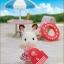 ซิลวาเนียน ชุดพี่สาวช็อคโกแลตเที่ยวทะเล (JP) *LIMITED EDITION* Sylvanian Families Sea Bathing Set thumbnail 3