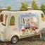 ซิลวาเนียน รถขายไอศรีมสีขาว (EU) Sylvanian Families Ice Cream Van thumbnail 1