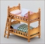 ซิลวาเนียน เตียงนอนเด็ก 2 ชั้น (JP) Sylvanian Families Child Bed thumbnail 1