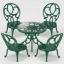 ซิลวาเนียน ชุดโต๊ะสนามสีเขียว Sylvanian Families Ornate Garden Chair thumbnail 1