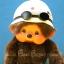 ตุ๊กตาลิงมอนจิจิรุ่นฉลอง 30 ปี ในชุดว่ายน้ำ 7 นิ้ว (30th Anniversary Monchhichi Plush) thumbnail 2