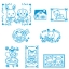 [SOLD OUT] ชุดตัวปั๊มซิลวาเนียน-กล่องฟ้า (JP) Sylvanian Families Stamp Set thumbnail 2