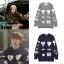 เสื้อแจ็คเก็ตแขนยาว EXO พิมพ์ลายทั้งตัว มี2สี