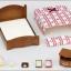 ซิลวาเนียน เตียงคู่ (EU) Sylvanian Families Semi-double Bed thumbnail 3