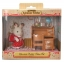 ซิลวาเนียน พี่สาวกระต่ายช็อคโกแลตกับโต๊ะหนังสือ Sylvanian Chocolate Rabbit Sister & Desk thumbnail 1