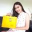กระเป๋ารุ่นโบว์ สีเหลือง thumbnail 3