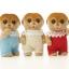 ซิลวาเนียน เบบี้แฝดเมียร์แคท 3 ตัว (UK) Sylvanian Families Meerkat Triplets thumbnail 2