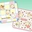 [SOLD OUT] ผ้าเช็ดหน้าลายซิลวาเนียน ครอบครัวช็อคโกแลต (JP) Sylvanian Families Handkerchief thumbnail 1