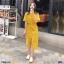Maxi Dress แม็กซี่เดรสผูกเอว งานซิปหลัง thumbnail 1