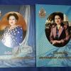 ถักร้อยดวงใจ มหกรรมผ้าไทย เทิดไท้พระบรมราชินีนาถ ปกแข็ง 2 เล่ม หนารวม 506 หน้า ปี 2550