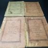 หนังสือ บุณทนาวงษ์ ร.ศ.130 (พ.ศ.2454 ) 5 เล่มจบ (ขาดเล่ม 3)