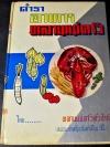 ตำราอาหารหลานเเม่ครัว โดย หลานเเม่ครัวหัวป่าก์( มจ.หญิง จันทร์เจริญ รัชนี) ปกแข็ง 378 หน้า ปี 2509