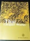 Thai Lacquer Works by Professor Silpa Bhirasri ปี 2544