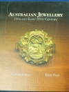 AUSTRALIAN JEWELLERY 19TH AND EARY 20TH CENTURY ปกแข็ง 286 หน้า ปี 1990
