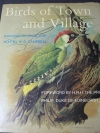 Birds of Town and Village by W.D.CAMPBELL ปกแข็ง 155 หน้า ปี 1972