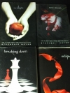 TWIGHT , NEW MOON, ECLIPSE , BREAKING DOWN BY STEPHENIE MEYER 4 เล่มครบชุด พิมพ์ปี 2005-2008