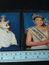 รูปถ่ายสี อาภัสรา หงสกุล ขนาดโปสการ์ด จำนวน 2 รูป