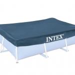 INTEX ผ้าคลุมสระสี่เหลี่ยมเมทัลเฟรม 3 ม.x2 ม