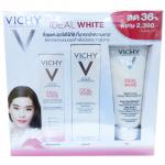 Vichy Ideal White set สุดคุ้ม Set 3 ชิ้น ขนาดจริงทุกชิ้น [โฟม+เอสเซนส์+ครีมลดจุดด่างดำ]