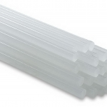 กาวแท่งเล็ก สีขาว 1กิโลกรัม 162 แท่ง (Made in Taiwan)