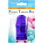 กล่องตัดยาใส (สีม่วง) Dr.Phillips ดร.ฟิลลิปป์ นำเข้าจาก: ประเทศไต้หวัน