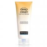Neutrogena deep clean foaming cleanser 50g นูโทรจีนา ดีพ คลีน โฟมมิง คลีนเซอร์ 50 กรัม.