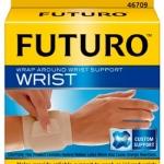 Futuro Wrap Around Wrist Support(free size) อุปกรณ์พยุงข้อมือ ฟูทูโร่ ชนิดปรับกระชับได้[Adjustable]